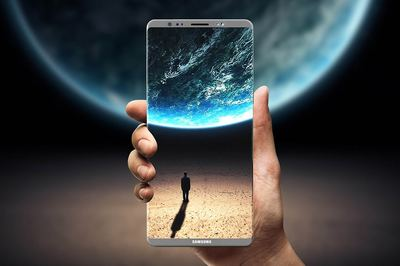 Rumors about the Samsung Galaxy Note 8 which supposedly launched to compete with the iPhone 8